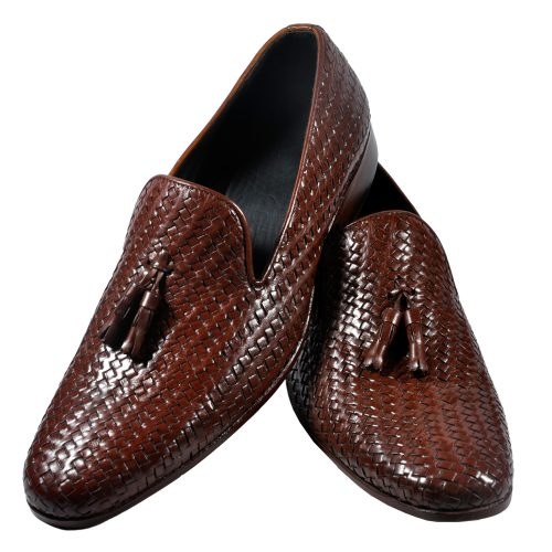 Pure leather Dark brown shoes