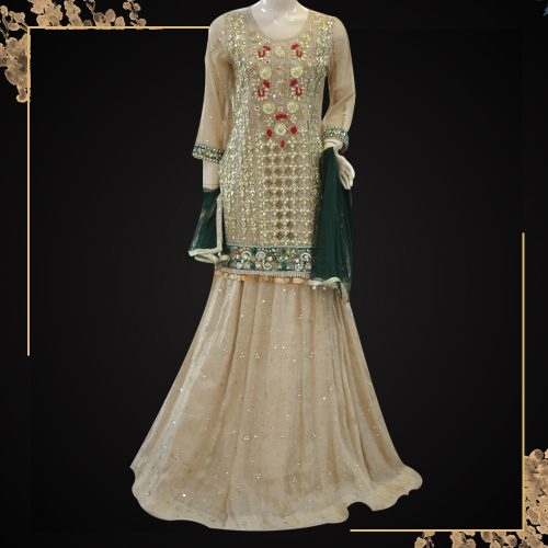 Wedding Lehnga Long Shirt